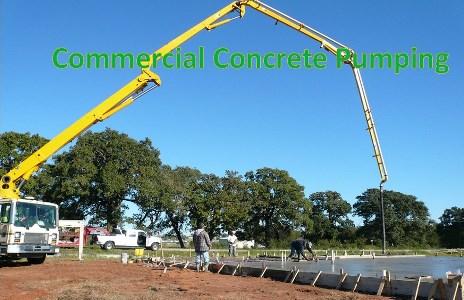 Commercial Concrete Pump