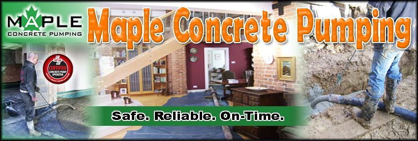Maple Concrete Pumping