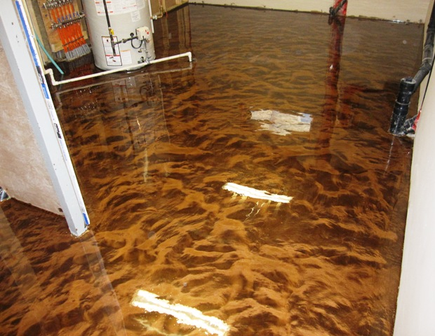 Metallic Epoxy Concrete Floors