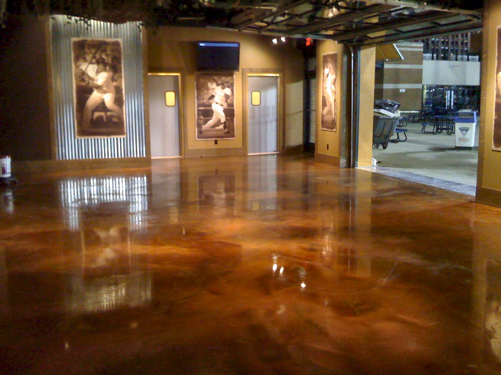 Neutral Epoxy Concrete Floor