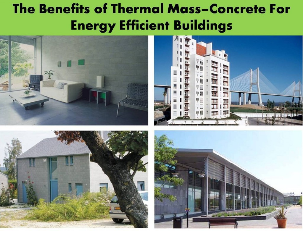 Thermal mass Concrete