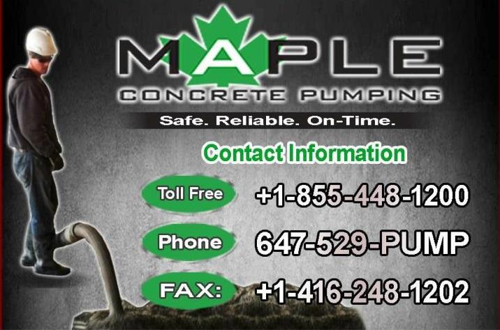 Toronto's Best Concrete Line Pumps supplier