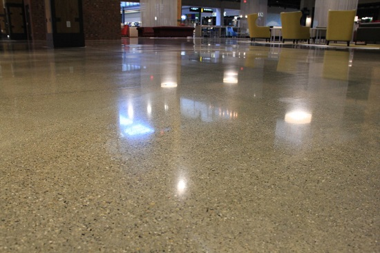 Where Polished Concrete Can Be Used