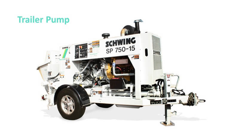 Schwing SP 750-18 trailer Pump