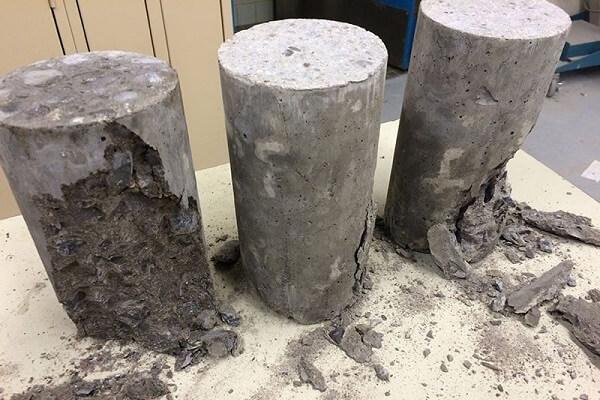concrete cylinder testing