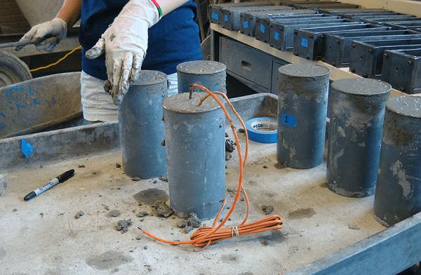 concrete maturity testing