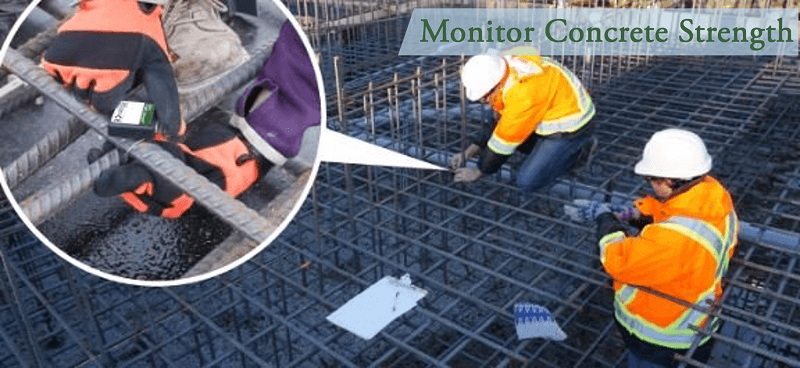 Monitor Concrete Strength