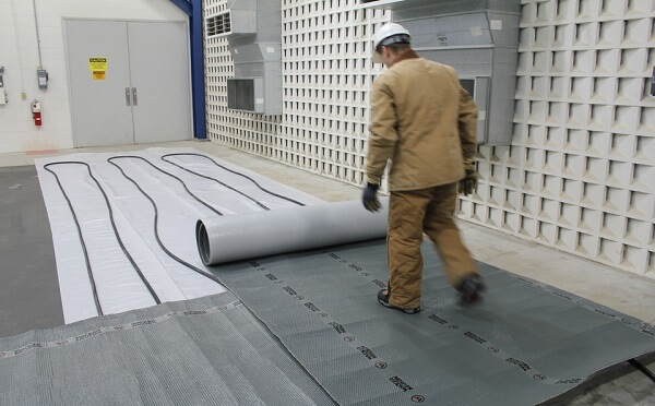 sealing concrete while it is cold