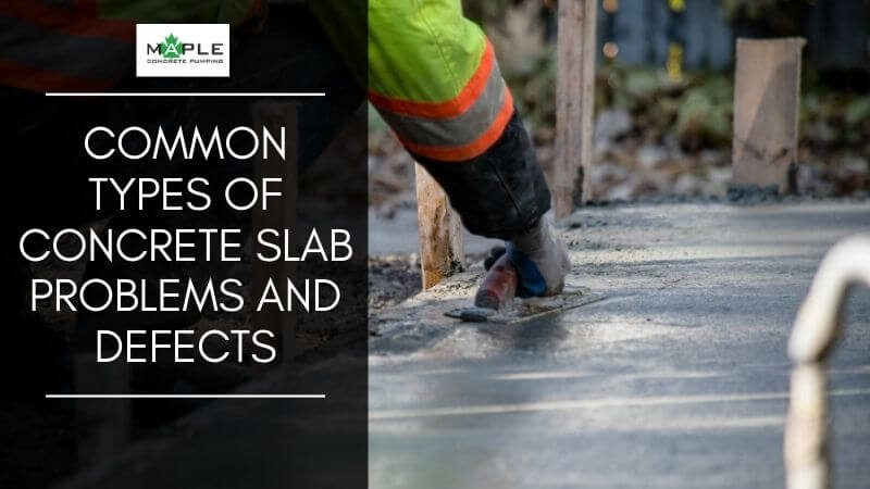 concrete slab problems