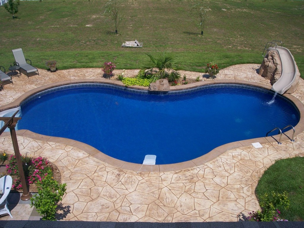 Decorative Concrete Ideas to Add Unique Effect to Your ... on Pool Patios Ideas id=97869