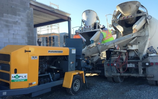 why small concrete pump became necessary for the