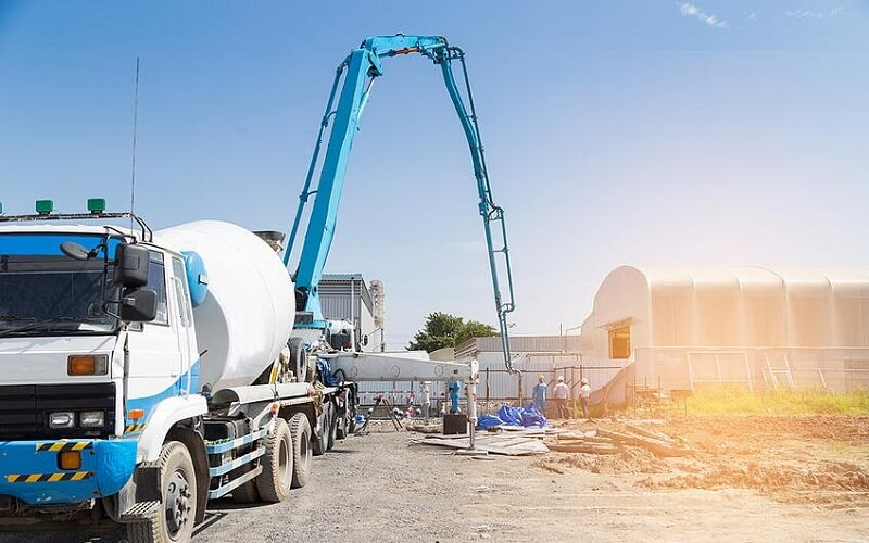 concrete pump rental services