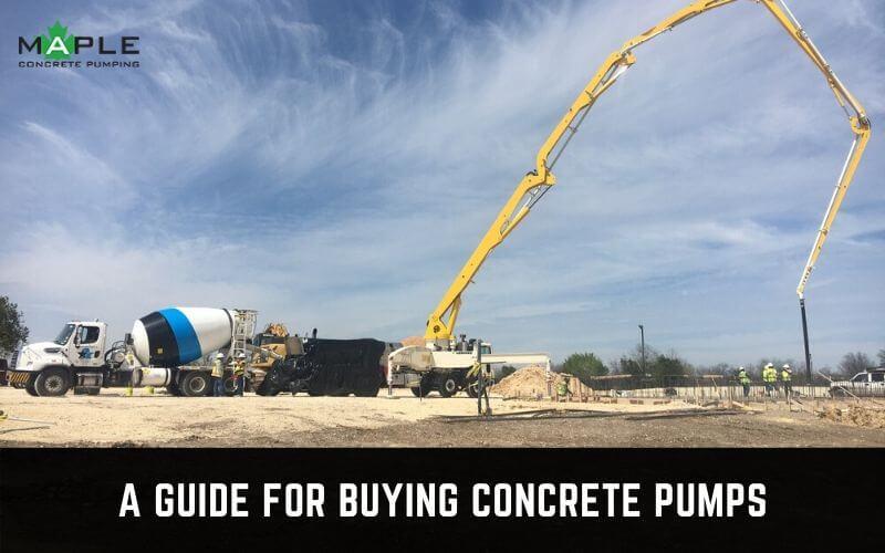 concrete pump buyer's guide